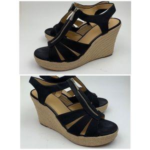 MICHAEL KORS Damita' Wedge Sandal sz 11